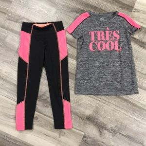 Justice athletic set
